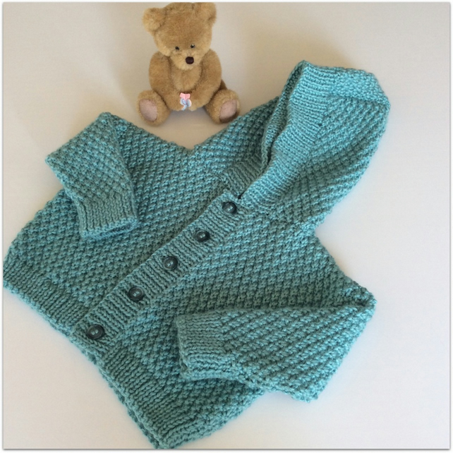 Boy's Hooded Cardigan 12 - 18 months