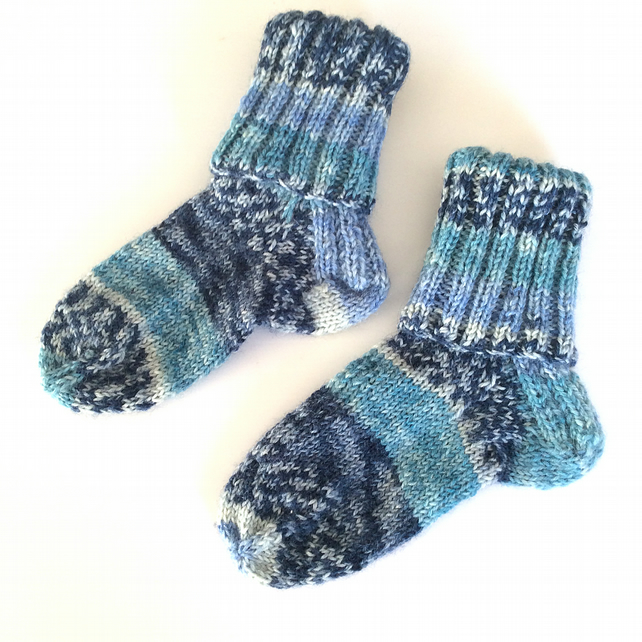 Baby and Toddler Random Striped Socks UK size 3.5 approx