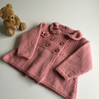 Baby Coat - vintage style- to fit up to 9mths approx - now reduced