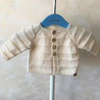 Baby Boy's Cardigan 0 - 3 months approx