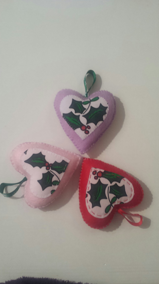 Xmas Heart Decoration
