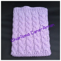 Knitted tablet covers