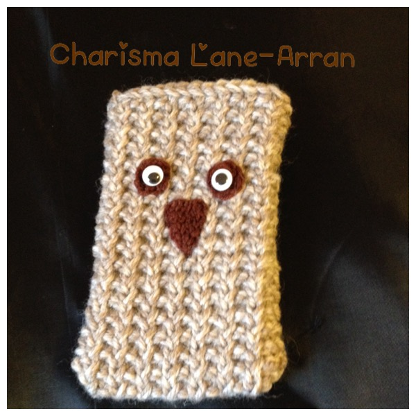 Little Owl Knitted IPhone 6 Cover