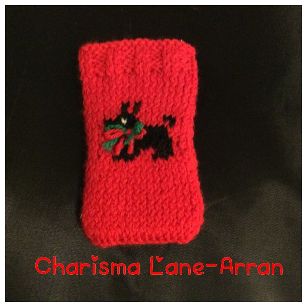 Scottie Dog Knitted IPhone 4 Cover