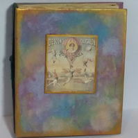Handmade Circus-Themed Memory Album