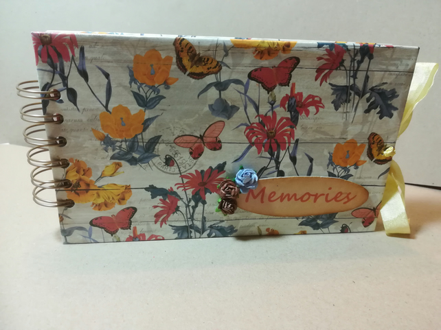 Handmade Memory Keepsake Photo Album