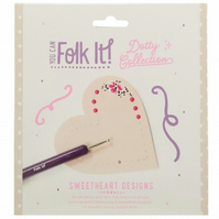 You can Folk It Dotty Collection