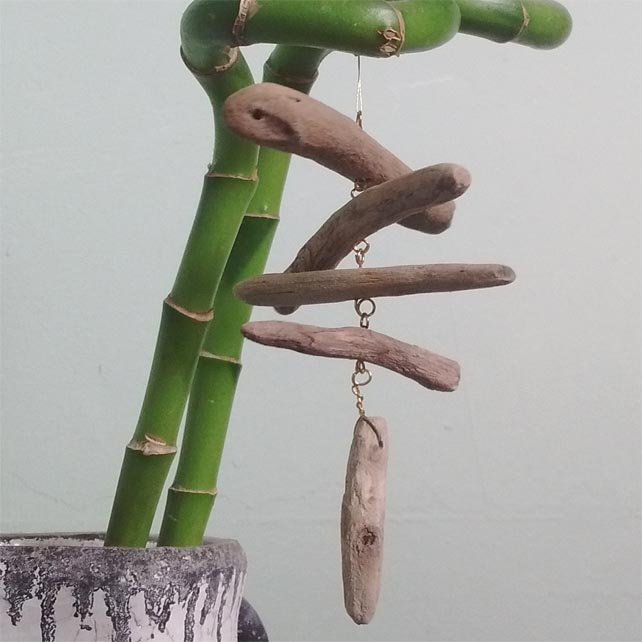 Driftwood Central Hanging Mini Mobile