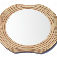 Round mirror.  Round mirrors for wall hanging in modern or classic interiors
