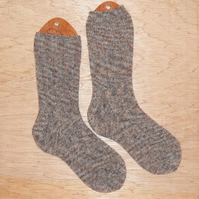 SALE: Hand knitted socks, LARGE, size 8-10