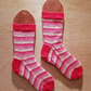 Hand knitted socks MEDIUM size 5-7
