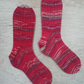 Hand knitted socks , LARGE, size 9-11
