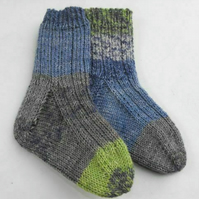 Children's knitted socks ages 18-24 months