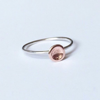 Copper dot ring