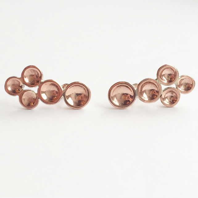Dot Earcrawler Pair Copper