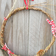 Small Natural Seasonal Wreath