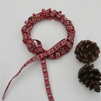 Small Ribbon and Twine Wreath