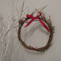 Natural Hand-Made Seasonal Wreath
