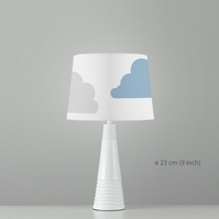 Clouds Lampshade. Diameter 23cm (9in). Ceiling or floor, table lamp
