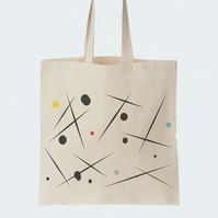 Universe Tote bag, Material shopping bag, Market bag, Beach bag