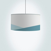"Ocean Drum Lampshade, Diameter 45 cm (18""), Ceiling or floor lamp"