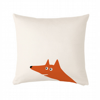 "Fox Cushion, cushion cover 50x50 cm (20x20"")"