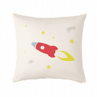 "Rocket Cushion, cushion cover 50x50 cm (20x20"")"