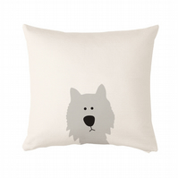 "Dog Cushion, cushion cover 50x50 cm (20x20"")"