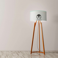 "Penguin Drum Lampshade, Diameter 45 cm (18""), Ceiling or floor lamp"