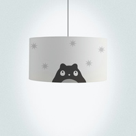 "Hamster Drum Lampshade, Diameter 45 cm (18""), Ceiling or floor lamp"