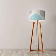 "Circles Drum Lampshade, Diameter 45 cm (18""), Ceiling or floor lamp"