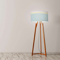 "Colour Combination Drum Lampshade, Diameter 45 cm (18""), Ceiling or floor lamp"