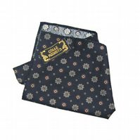 Handkerchief, Pocket Square, Blue Handkerchief, Suit Pocket, Mens Handkerchief