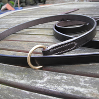 English Bridle leather Sliplead, Gundog Leash