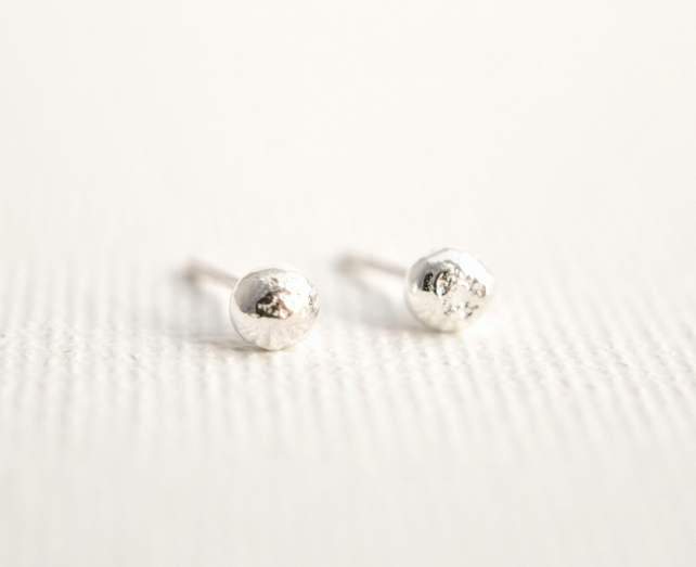 Ball Stud Earrings - Dot Earrings