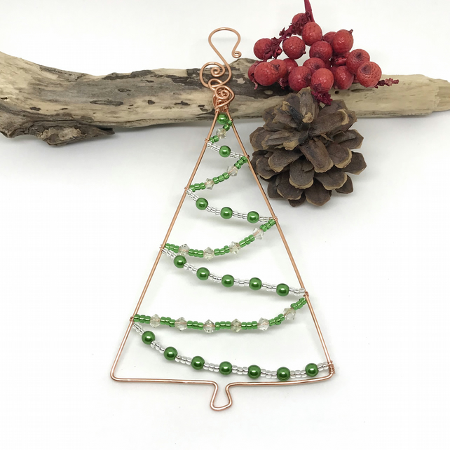 Christmas Tree Decoration, Copper