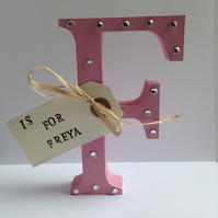 1st birthday, Childs birthday, letter, customised, nursery decor
