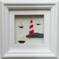 Sea Pottery Lighthouse and Yachts