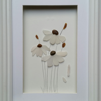 Sea Glass Flowers Blowing in the Wind