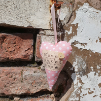 Hanging Hearts: Home Sweet Home