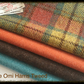 Harris Tweed Fabric Bundle - Gorgeous colours plus labels