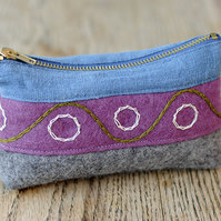 Indigo Pencil Case No. 3