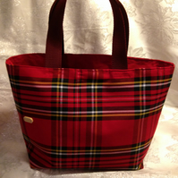 Red Tartan Tote bag