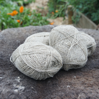 4ply Yarn - 2x 50g Balls in mixed Shetland colours