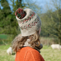Fernhill Hat – Knitting Pattern in three adult sizes – unisex