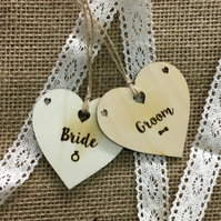 Bride & Groom Heart Place Names