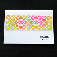 Thank You Trellis - Handcrafted Thank You Card - dr17-0038
