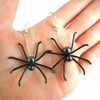 Spider Earrings Halloween gift for goth