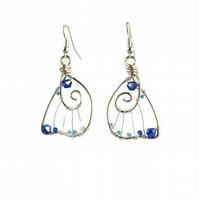 Butterfly Wing Earrings gift for her fairy wings