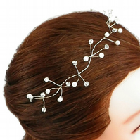 Wedding Hair Vine bridal hair vine Pearl hair vine bridesmaid hair vine bridal